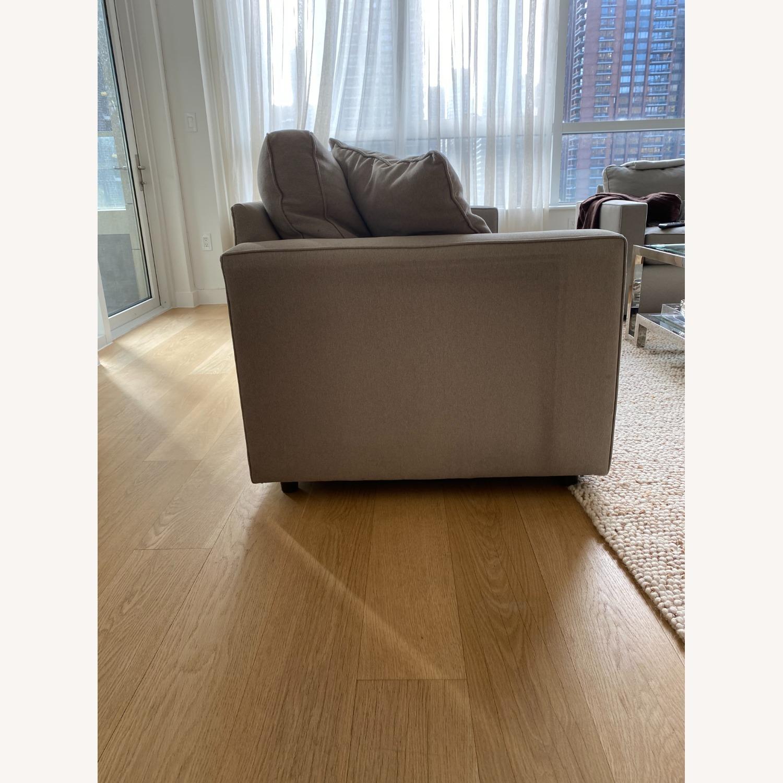 Room & Board Grey York Sofa - image-4