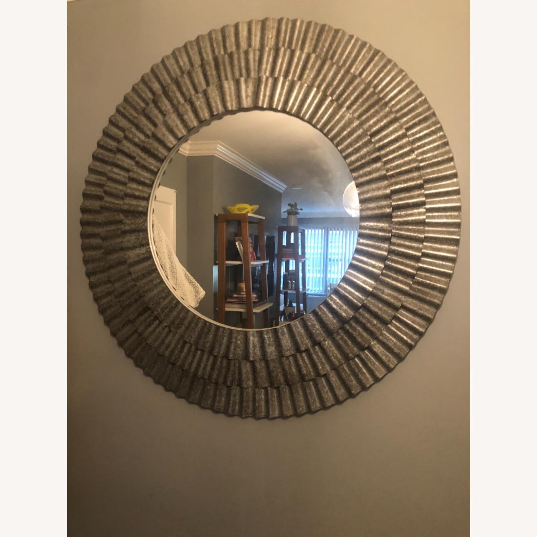 Vintage Fun Silver Mirror - image-3