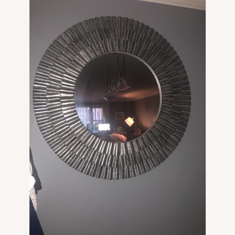 Vintage Fun Silver Mirror - image-2