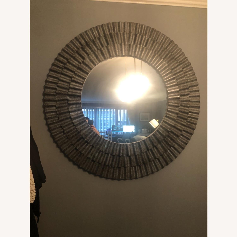 Vintage Fun Silver Mirror - image-4