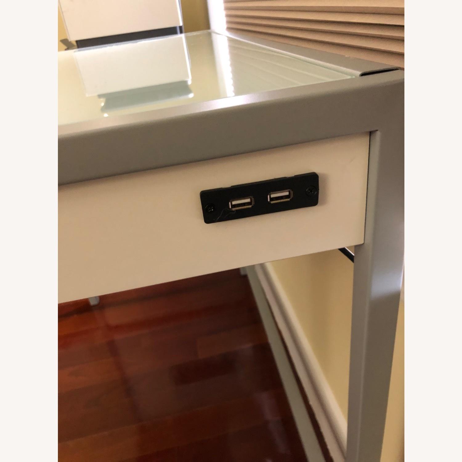 Modern White Desk - image-3