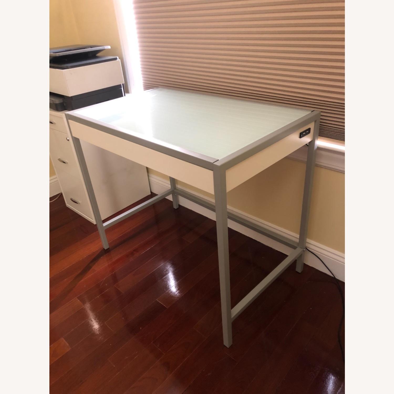 Modern White Desk - image-4
