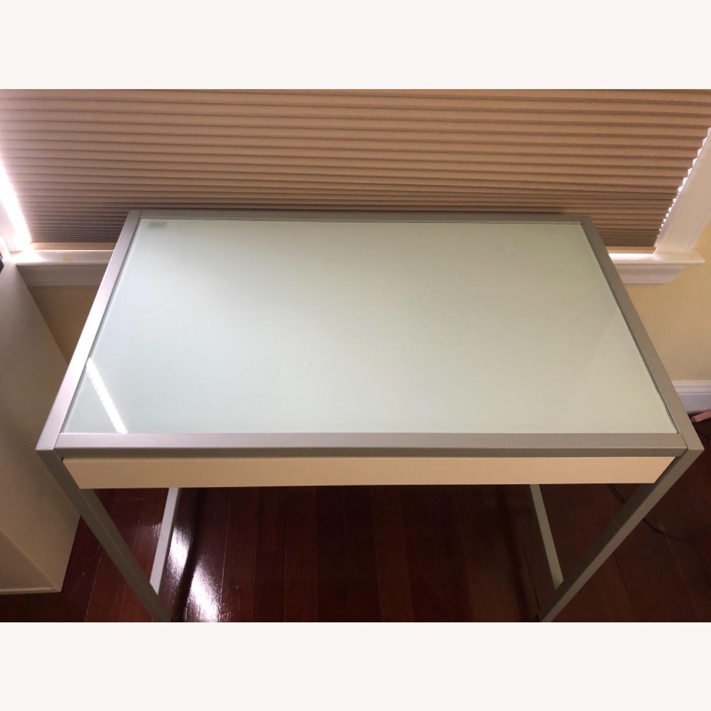 Modern White Desk - image-2