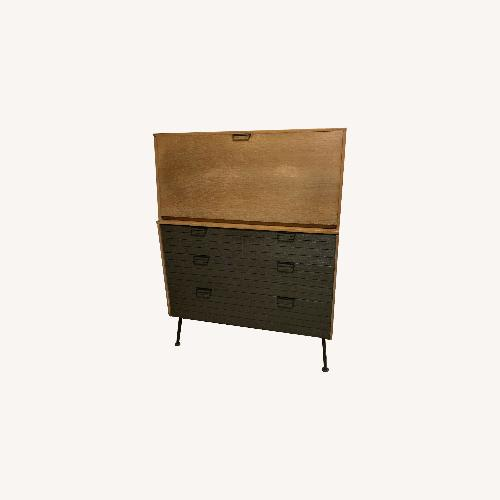 Used 1950s MCM Desk by Raymond Loewy for Mengel for sale on AptDeco