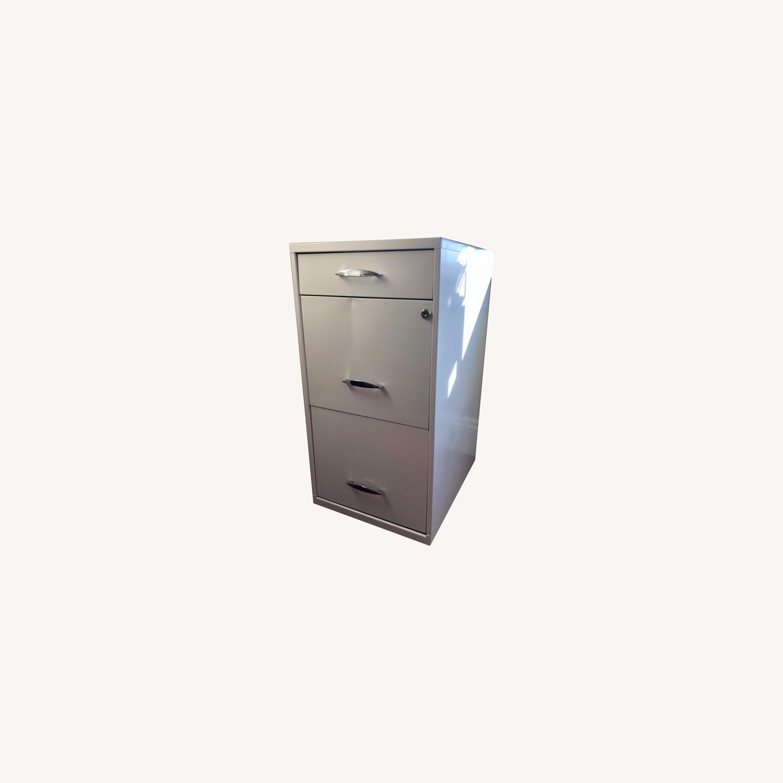 3 Drawer File Cabinet - image-0