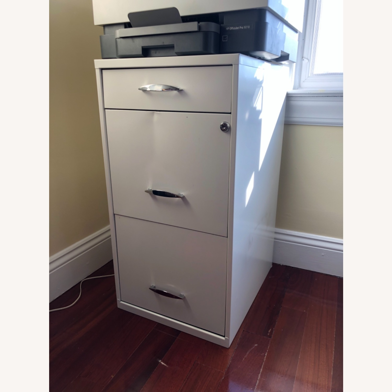 3 Drawer File Cabinet - image-1