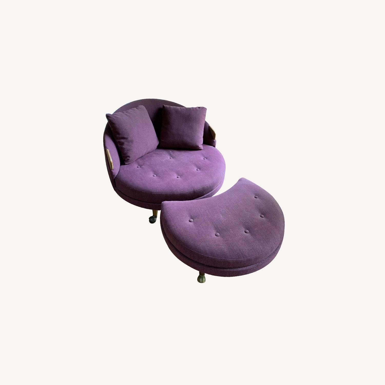 MCM Adrian Pearsall Havana Lounge Chair - image-0