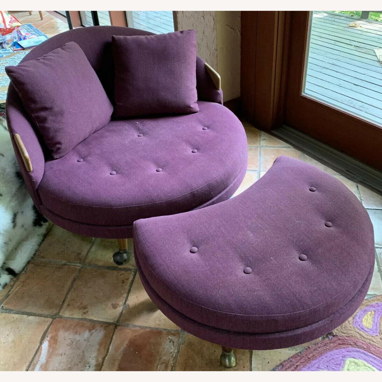 MCM Adrian Pearsall Havana Lounge Chair - image-1
