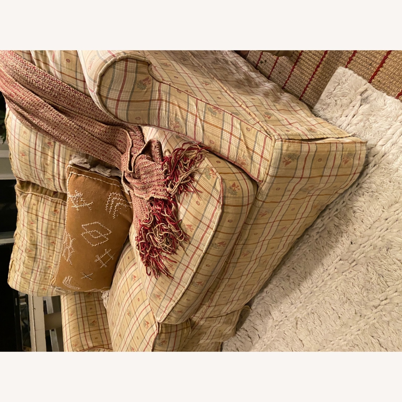 Lillian August Slip Covered Down Filled Loveseat - image-3
