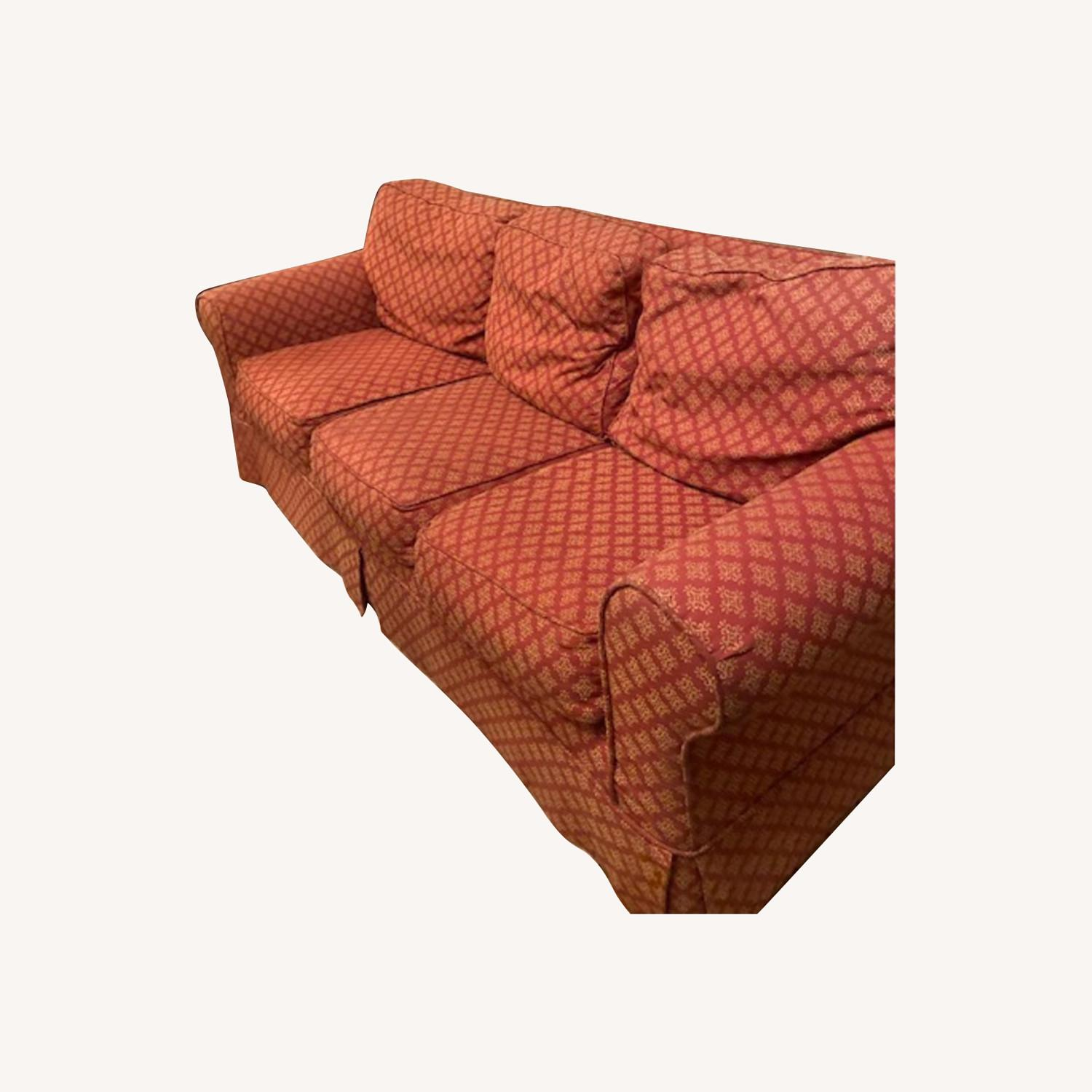 Lillian August Slip Covered Couch - image-0