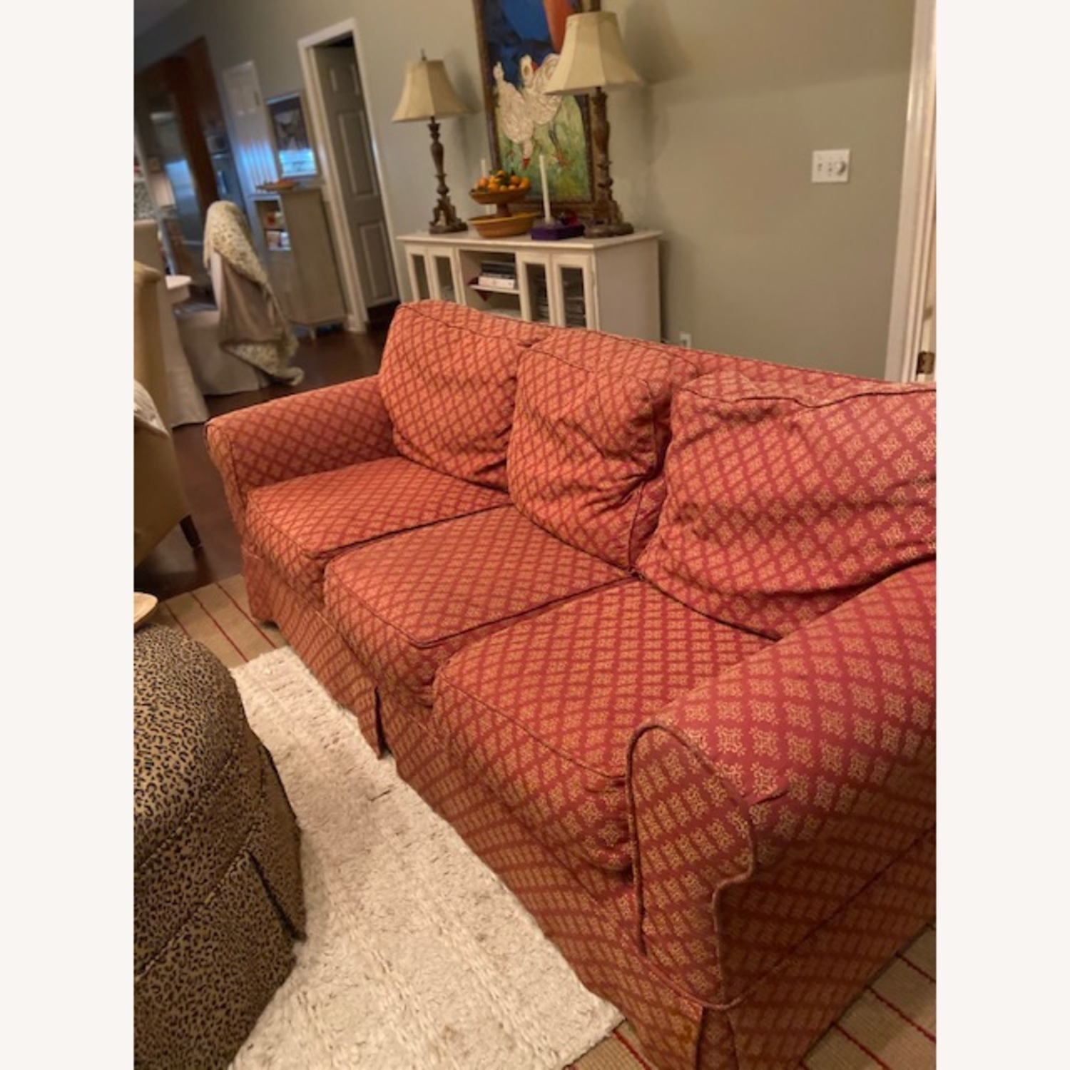 Lillian August Slip Covered Couch - image-2