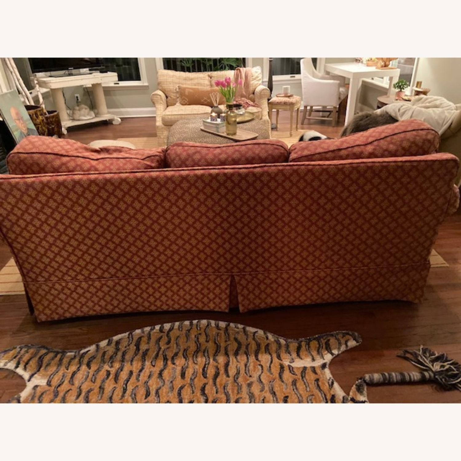 Lillian August Slip Covered Couch - image-3