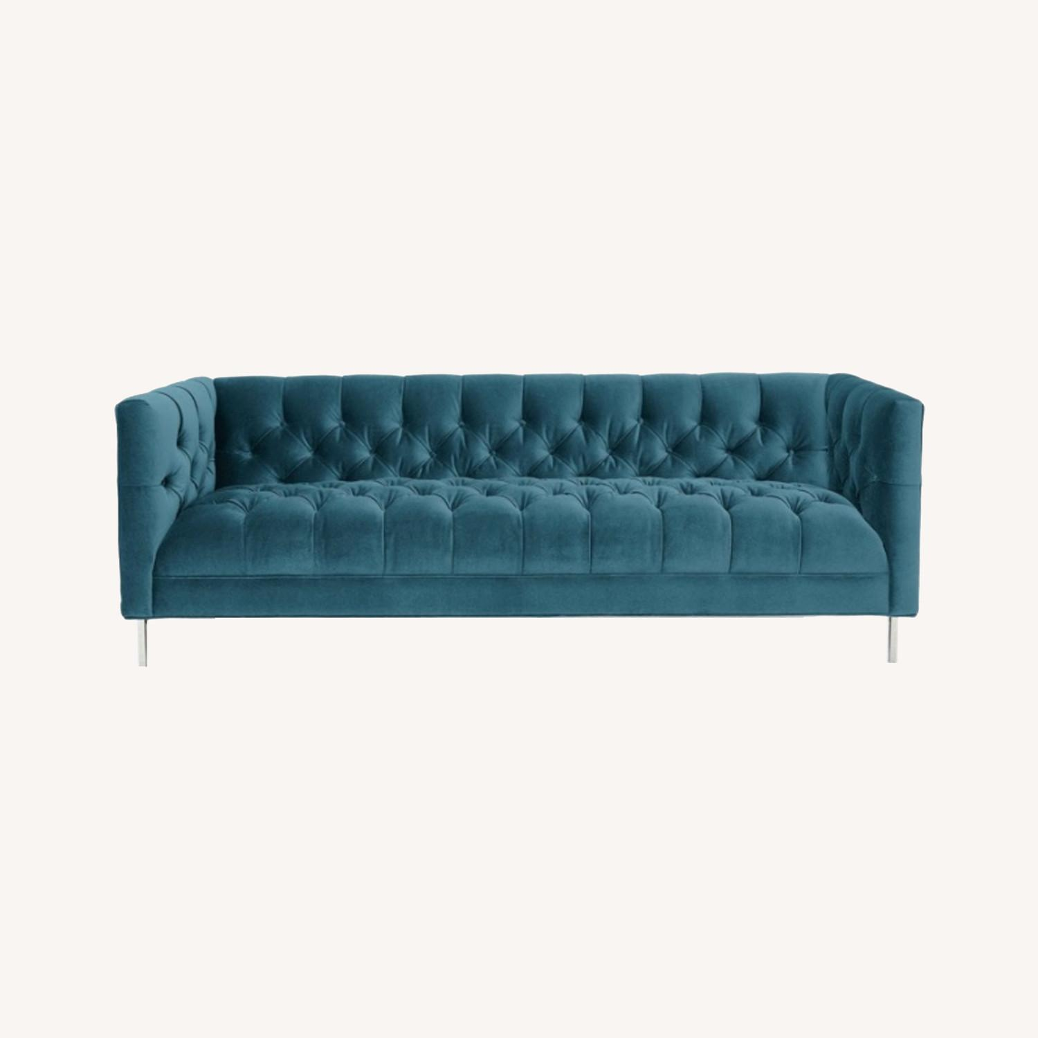 "ABC Tribeca 84"" Sofa (Cornflower Blue) - image-0"