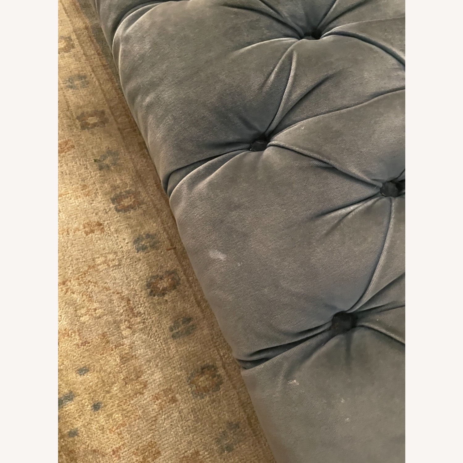 "ABC Tribeca 84"" Sofa (Cornflower Blue) - image-3"