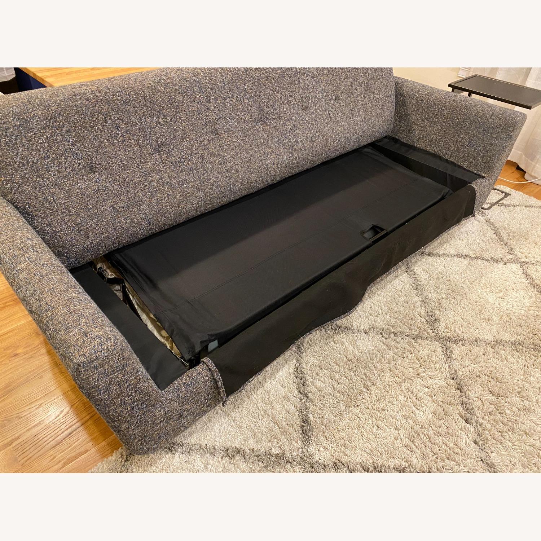 Joybird Dark Grey Hughes Sleeper Sofa - image-13