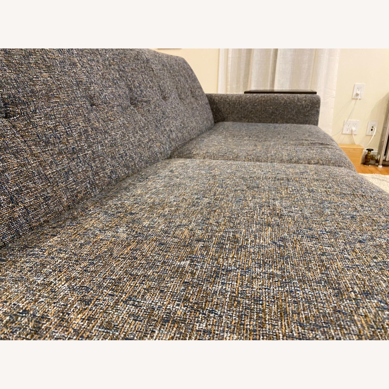 Joybird Dark Grey Hughes Sleeper Sofa - image-5