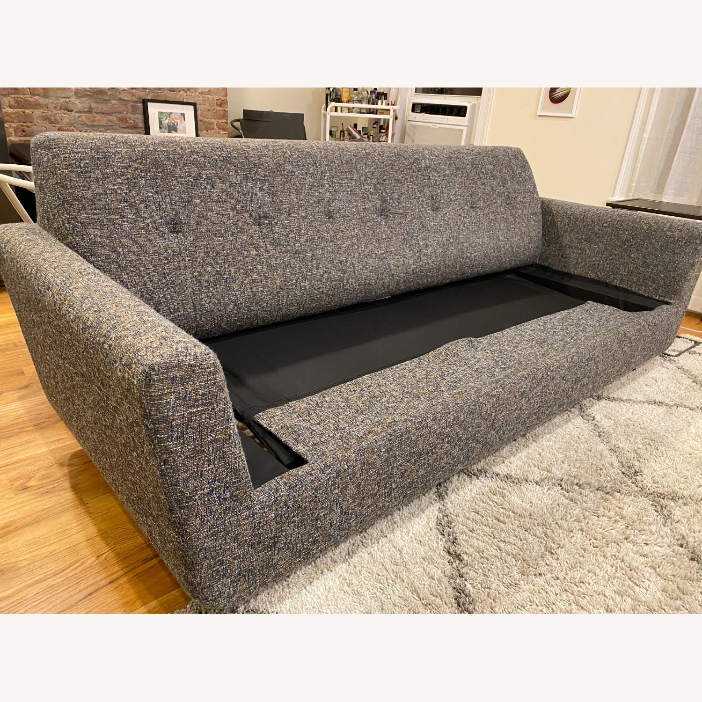 Joybird Dark Grey Hughes Sleeper Sofa - image-18