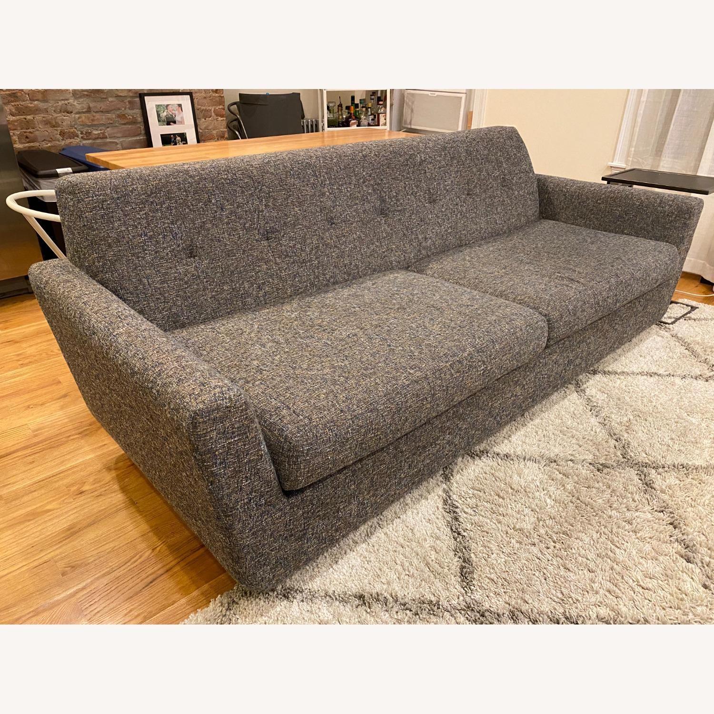 Joybird Dark Grey Hughes Sleeper Sofa - image-1