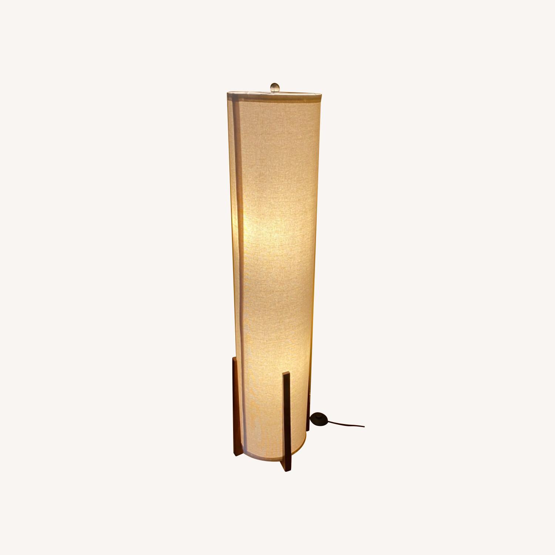 Asian Inspired Floor Lamp - image-0