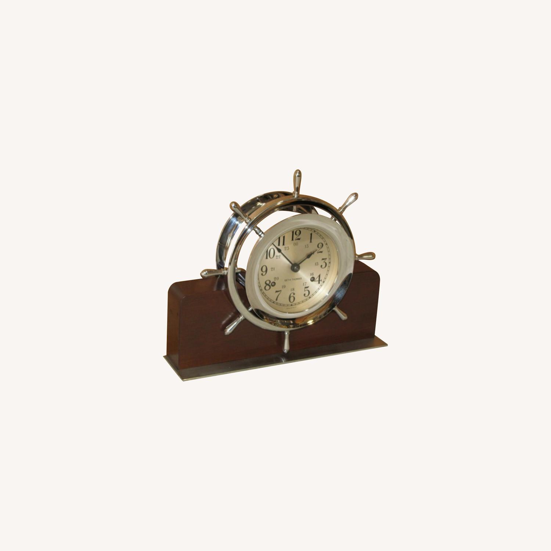 Ships Bell Clock - image-0