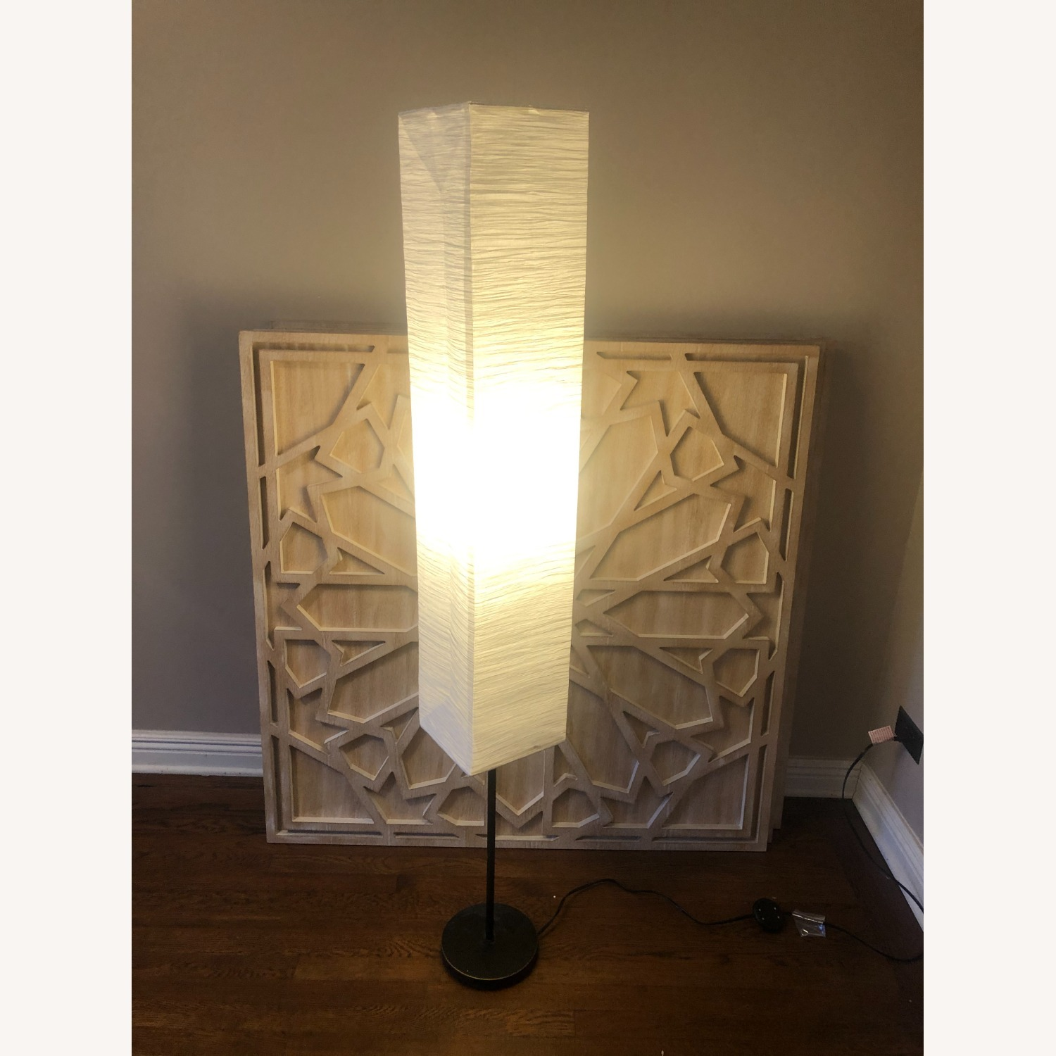 Shaded Floor Lamp - image-2
