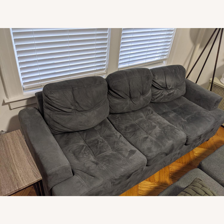 Comfortable 3-Seat Sofa - image-3