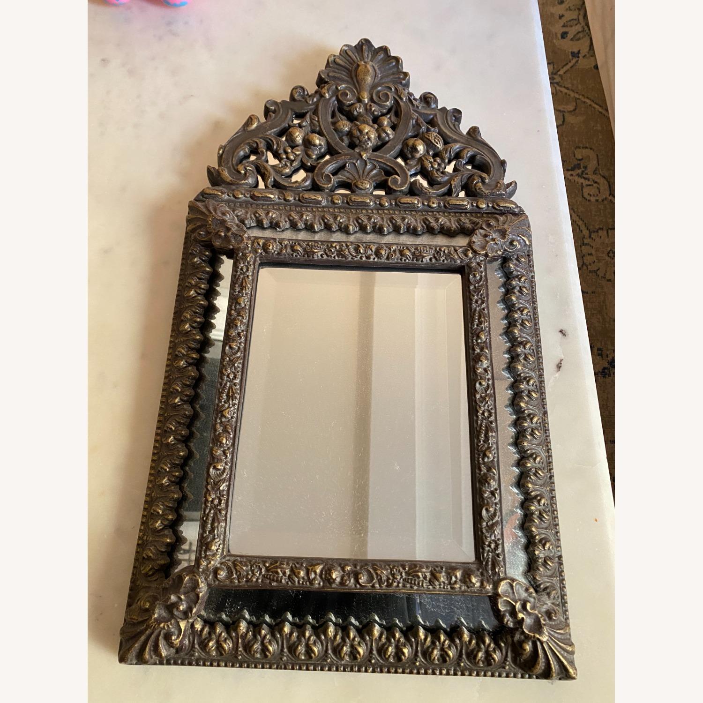 Wisteria Small Rococo Mirror - image-1