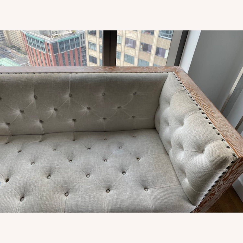 Tufted Regis Cream Sofa - image-4