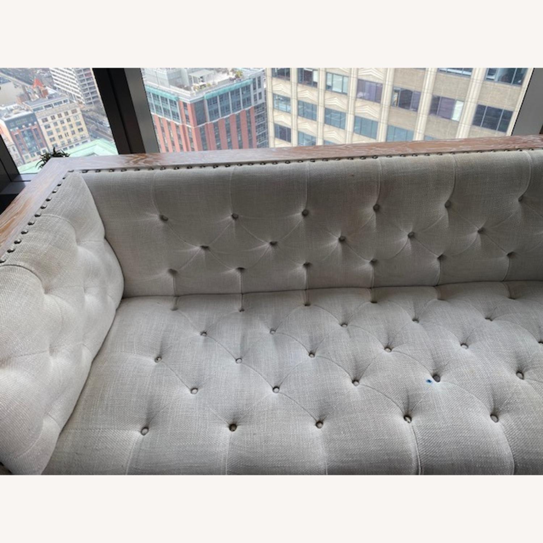 Tufted Regis Cream Sofa - image-2