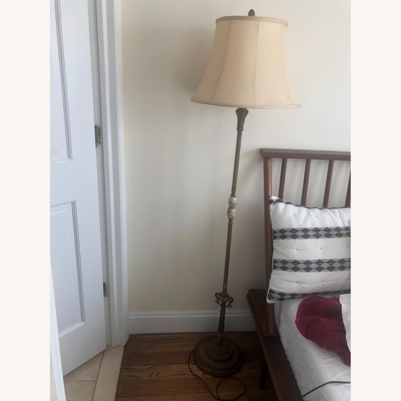 Floor Standing Antique Lamp - image-1