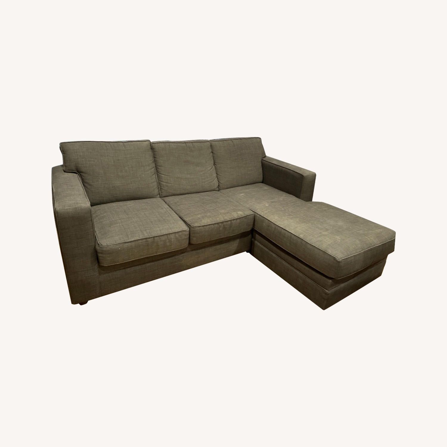 Queen Size Sleeper Sectional Sofa - image-0