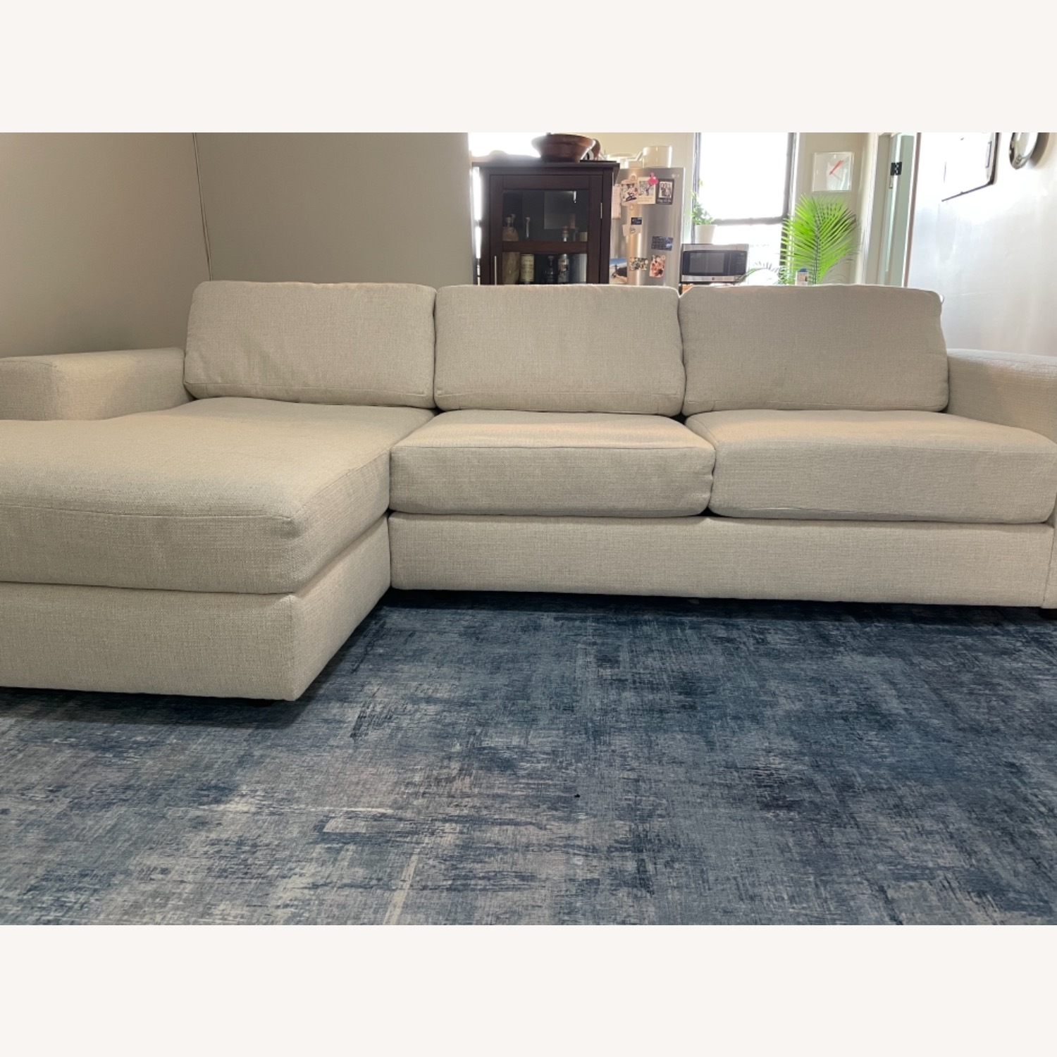 West Elm Right Arm Sectional - image-1