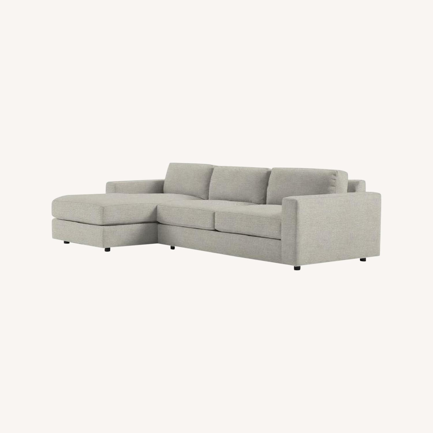 West Elm Right Arm Sectional - image-0