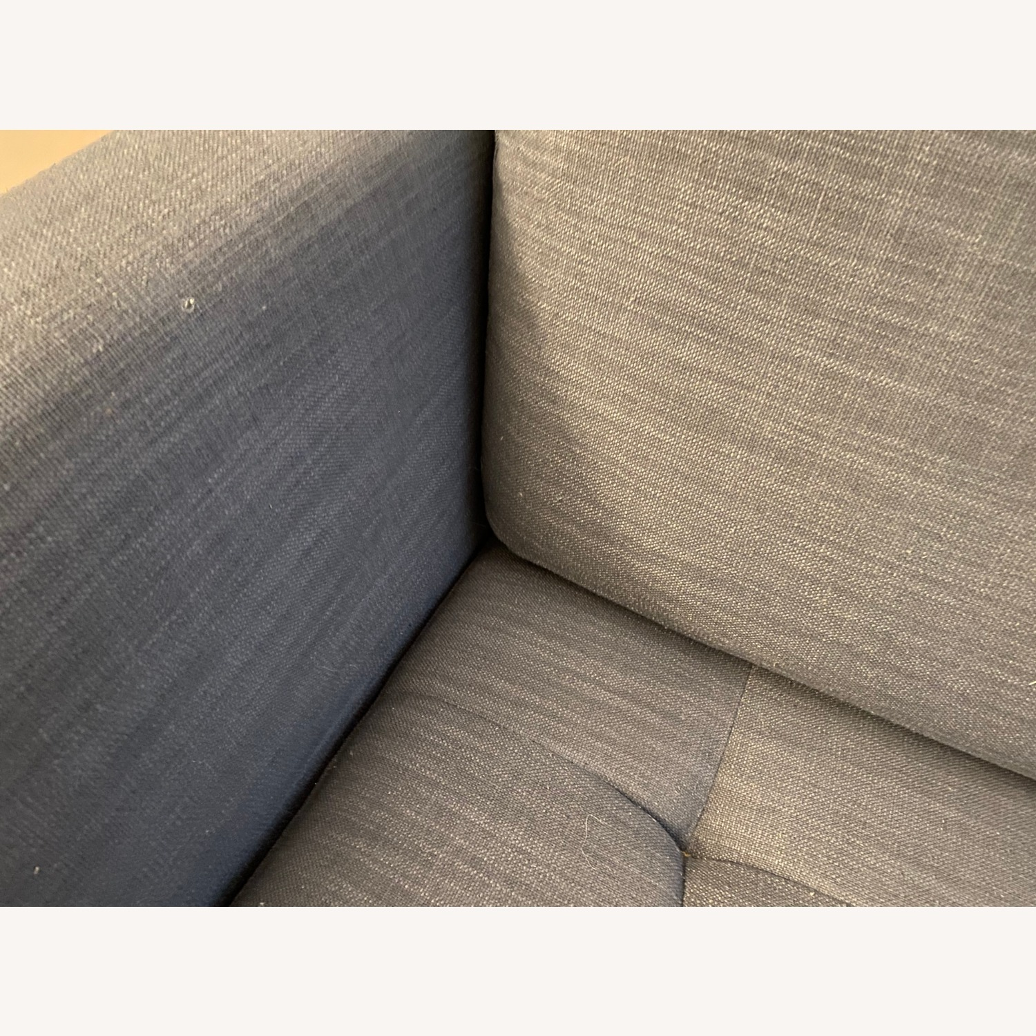 Macy's Tufted Modern Couch Sofa - image-4