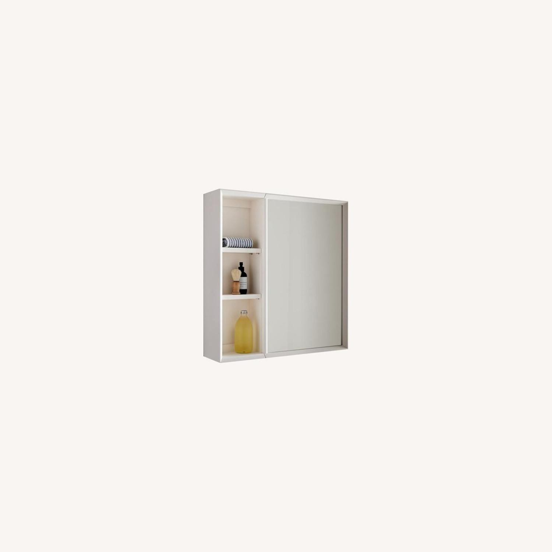 West Elm Mid-Century Open Medicine Cabinet - image-0