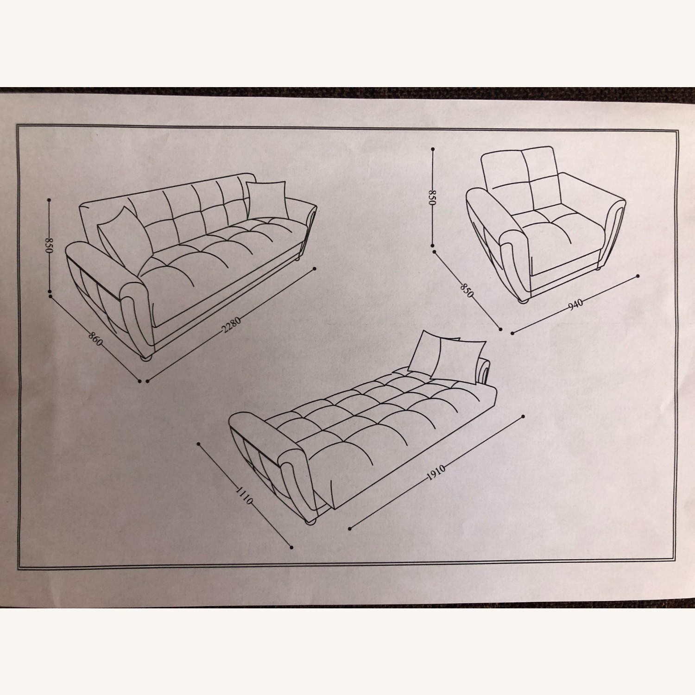 Istikbal Avella Brown Modern Sofa Bed Convertible - image-9