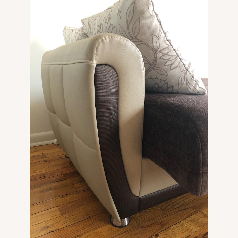 Istikbal Avella Brown Modern Sofa Bed Convertible - image-5