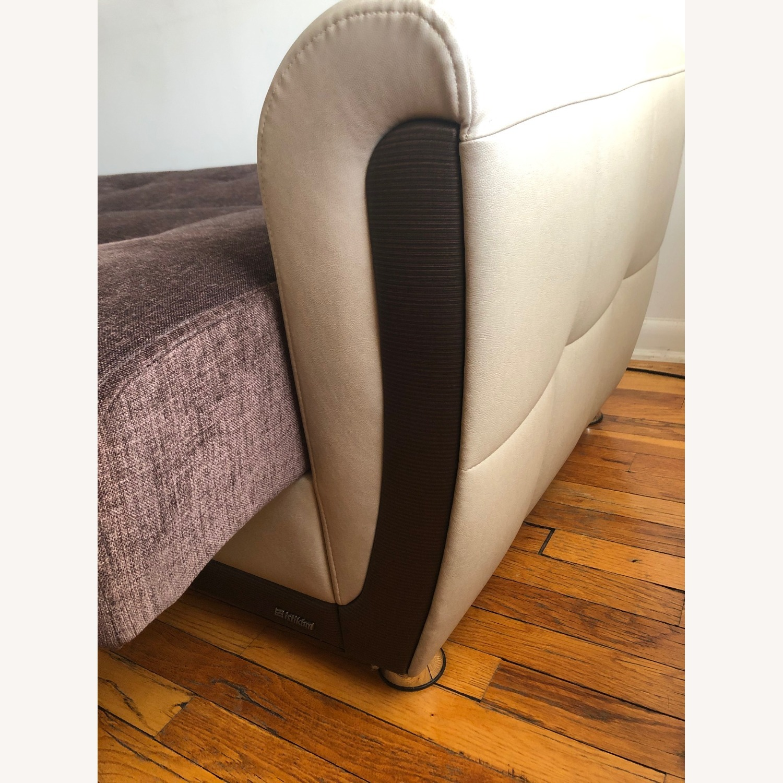 Istikbal Avella Brown Modern Sofa Bed Convertible - image-4