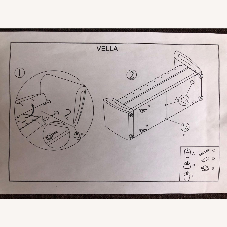Istikbal Avella Brown Modern Sofa Bed Convertible - image-8