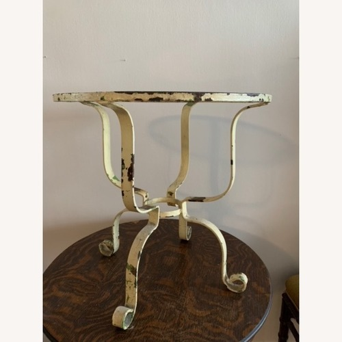 Used Vintage Iron Side Table for sale on AptDeco