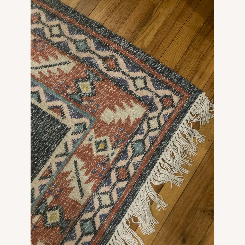 West Elm Indian Print Indoor/Outdoor Rug, 5'x8', - image-3