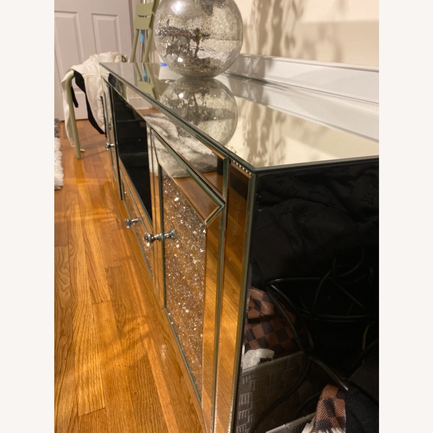 Mirrored TV Stand - image-2