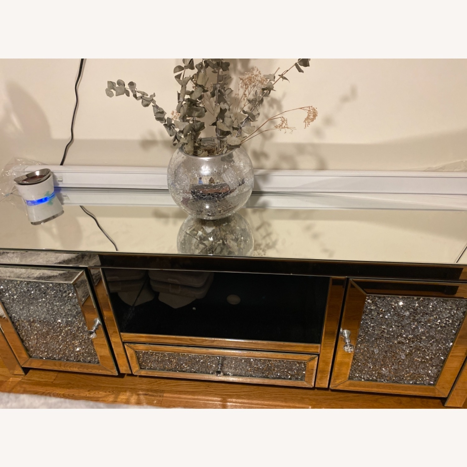 Mirrored TV Stand - image-0