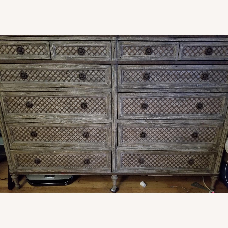 Restoration Hardware 11 Draw Dresser - image-4