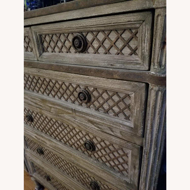 Restoration Hardware 11 Draw Dresser - image-5