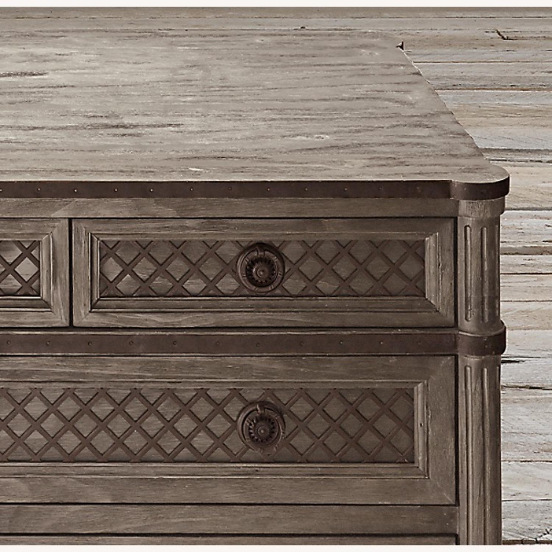 Restoration Hardware 11 Draw Dresser - image-3