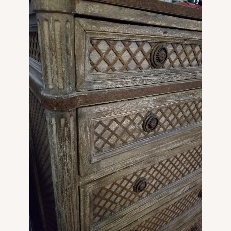 Restoration Hardware 11 Draw Dresser - image-6