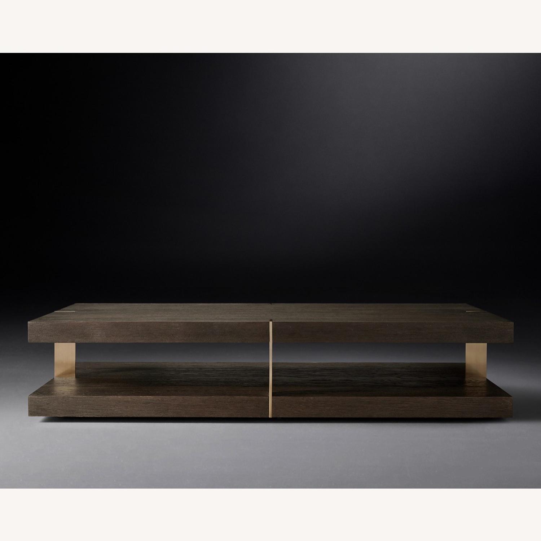 Restoration Hardware Coffee Table - image-1