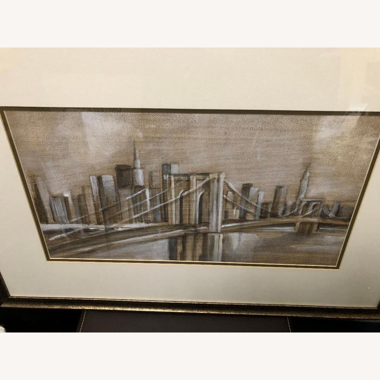 Crate & Barrel Brooklyn Bridge Print - image-1