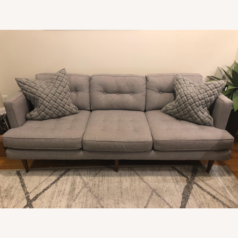 West Elm Peggy Mid-Century Sofa - image-1
